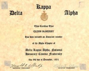 Alpha 1951 Glenn McMurry